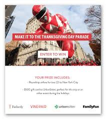 make it to the thanksgiving day parade golden goose giveaways
