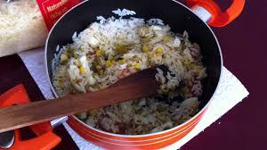 cuisine facile a faire faire une salade de riz recette fraîcheur facile cuisiner une