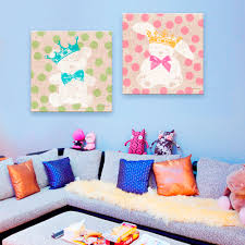 Home Decoration Painting by Online Get Cheap Rabbit Paintings Aliexpress Com Alibaba Group