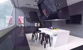 purple modern kitchen 50 modern kitchen designs that use unconventional geometry