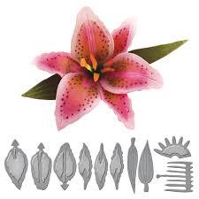 stargazer lilly s2 064 shapeabilities create a stargazer etched dies