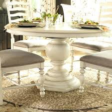 double pedestal extendable dining table white expandable room 42