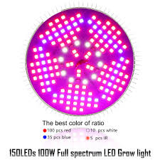 what color light do plants grow best in 100w full spectrum e27 led grow light plants growing light l bulb