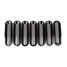 Rugged Ridge Billet Grille Inserts In Black Jeep Grille Inserts U0026 Accesories By Rugged Ridge