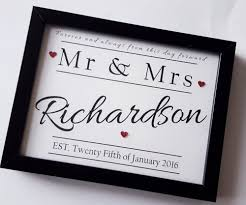 wedding gift personalised anniversary gift wedding present personalised handmade gifts