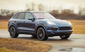 porsche cayenne 2016 diesel 2013 porsche cayenne diesel test u2013 review u2013 car and driver