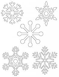 templates for snowflakes free printable snowflake templates large small stencil patterns