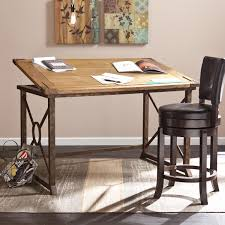 top drafting table knightley tilt top drafting table desks home office shop