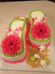 flip flop cake 2 deb u0027s cakes u0026 cupcakes pinterest flip flop