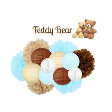 teddy themed baby shower teddy baby shower decoration teddy party decoration