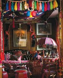 Hippie Home Decorating Ideas Home Style Boho Eclectic Decor Bohemian Dining Room Decorating