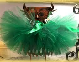 Green Tutu Halloween Costume Witch Tutu Etsy