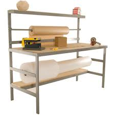 packing table with shelves packaging table packaging2buy packing table packaging station