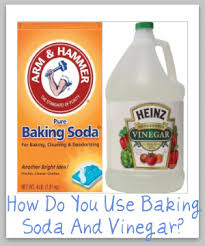 baking soda and vinegar clogged sink baking soda vinegar uses around the home for cleaning laundry and