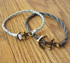 braided bracelet with charms images Anchor and braid bracelet how did you make this luxe diy JPG