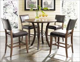 High Bar Table Set Kitchen Round Extendable Dining Table Bar Height Table Kitchen