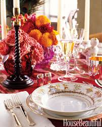 House Beautiful Dining Rooms by 14 Thanksgiving Table Decorations Table Setting Ideas For