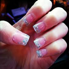 nail art pink and whiteils tucson houghtonil designs for short