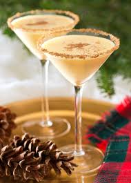 martini holiday top 10 christmas cocktails eggnog martini christmas cocktails