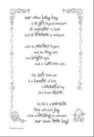baby boy sayings a baby is a gift from poem style by modernstork