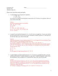 economics 101 name summer 2015 answers to quiz 0 please