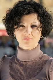 short haircuts naturally curly hair hair style and color for woman