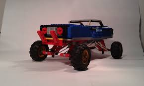 remote control monster truck grave digger lego ideas lego monster truck
