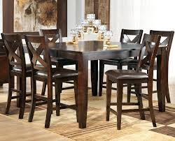 Cherry Wood Dining Room Furniture Pub Height Dining Room Furniture Table And Chairs Style Sets With