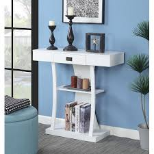 convenience concepts savannah console table convenience concepts wyoming crescent console table aaa discounts