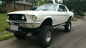 daily turismo high as a kite 1967 ford mustang 4x4