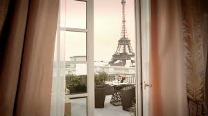 Eiffel Tower Window Curtains by Duplex Terrace Eiffel Tower View Suite Shangri La Hotel Paris