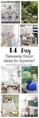 Real Home Decorating Ideas 14 Takeaway Decor Ideas From Bhome Summer Home Tours Setting For
