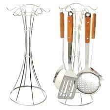 porte ustensile cuisine en acier inoxydable actagare de la cuisine rack spatule cuillare