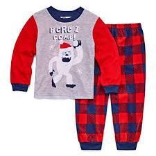 yeti 2 pajama set toddler boys jcpenney