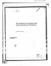 cover letter for cia kwangju declassified pdfs of key documents money doesn u0027t talk