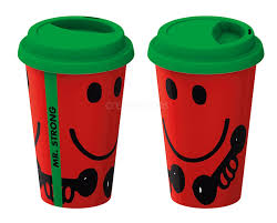 creative tops mr men or little miss insulated travel mug grumpy