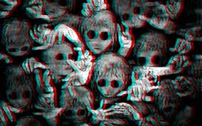 creepy halloween wallpaper dark art artwork fantasy artistic original psychedelic horror evil