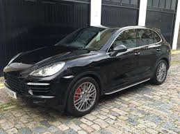 porsche cayenne 4 8 turbo used 2013 porsche cayenne 4 8 turbo tiptronic s awd 5dr for sale