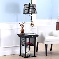 table lamps table lamp with usb and power outlet manifold