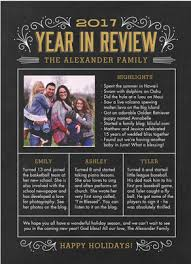 year in review christmas card year in review on chalkboard christmas card cardstore