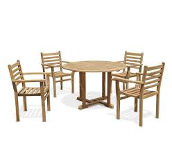Patio Table And Chair Set Teak Patio Table And Chairs