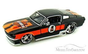 1967 Mustang Black 1967 Ford Mustang Gt Harley Davidson 1 Black Maisto Hd 32168