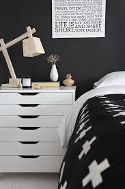 Black And White Bed 167 Best Inspiration Black Walls Images On Pinterest