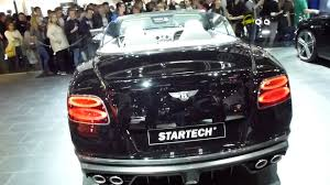 bentley startech 2015 iaa bentley continental gtc by startech see also playlist