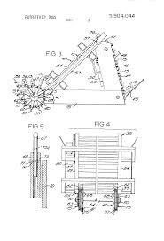 patent us3904044 sticker placement device for lumber stacking