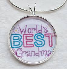 grandmother necklace worlds best necklace grandmother oma gigi nana