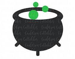 free halloween clipart witch cauldron cauldron clipart etsy