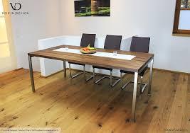 design holztisch esstisch buche massiv 250 x 100 cm designer tisch