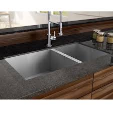 Stainless Steel Double Sink Stainless Steel Sink Double Bowls Square Corners Plumbing