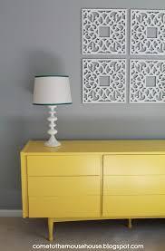 11 yellow painted furniture makeovers u2013 craftivity designs